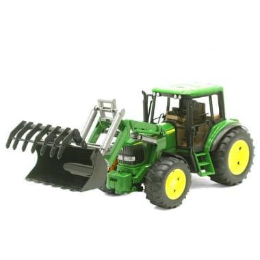 Rotaļu traktors ar frontālo iekrāvēju, John Deere 7930