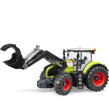 Rotaļu traktors ar frontālo iekrāvēju, Claas Axion 950, Bruder