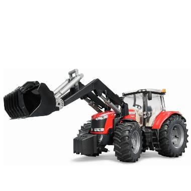 Rotaļu traktors ar kausu, Massey Ferguson
