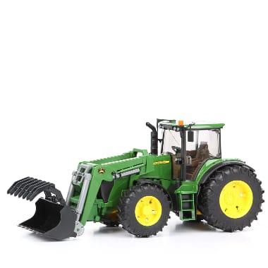 Rotaļu traktors ar frontālo iekrāvēju, John Deere 7930, Bruder