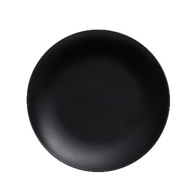 Melns šķīvis, Maku, Ø 27 cm