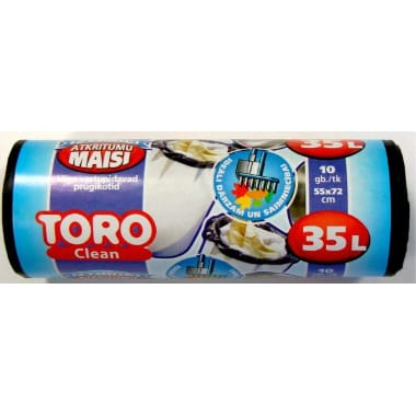 Atkritumu maisi Toro, 35 L, 10 gab.