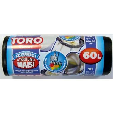 Atkritumu maisi Toro, 60 L, 10 gab.