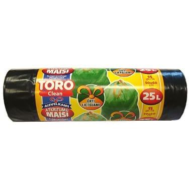Atkritumu maisi Toro aizvelkami, 25 L, 15 gab.
