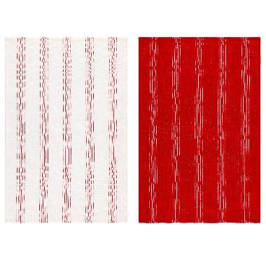 Virtuves dvieļu komplekts 4living, sarkans, 50 x 70 cm, 2 gab.