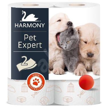 Papīra dvieļi Harmony Pet Expert, 2 gab.