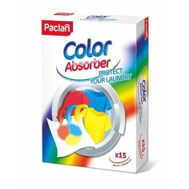 Krāsu absorbējošās salvetes Paclan, 15 gab.