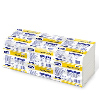 Papīra salvetes Grite Economy, 160 gab.