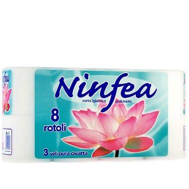 Tualetes papīrs Ninfea, 8 ruļļi
