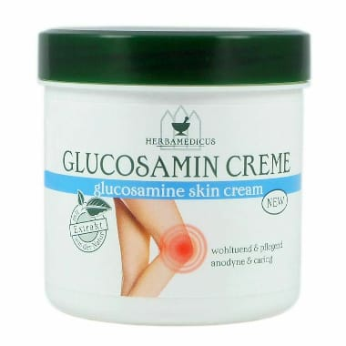 Krēms ar glikozamīnu HerbaMedicus, 250 ml