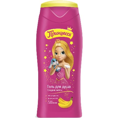 Bērnu dušas želeja Princessa, 250 ml