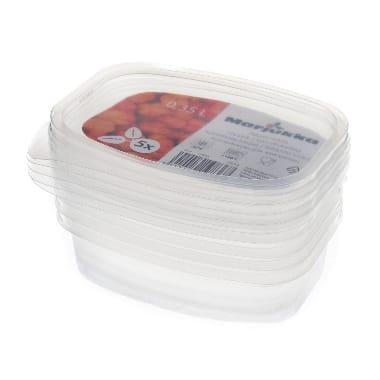 Trauciņi saldēšanai 5 gab. Marjukka, 0,35 L