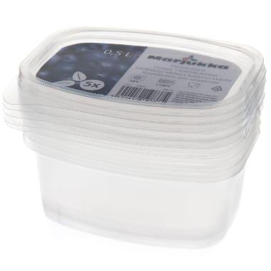 Trauciņi saldēšanai 5 gab. Marjukka, 0,5 L