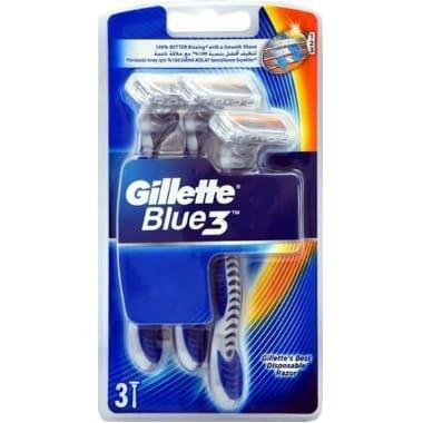 Skuvekļi Gillette Blue 3, 3 gab.