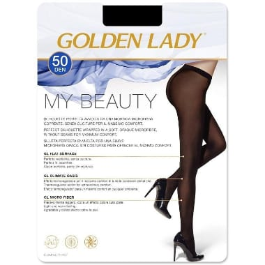 Sieviešu zeķubikses 50 DEN, Golden Lady