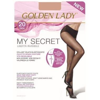 Sieviešu zeķubikses 20 DEN, Golden Lady