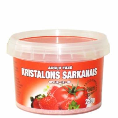 Kristalons sarkanais 12-12-36, 250 g
