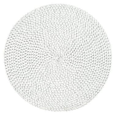 Paliktnis 4living, balts, Ø 38 cm