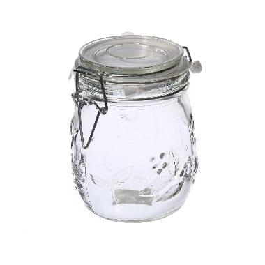 Stikla burka uzglabāšanai, 0,75 L
