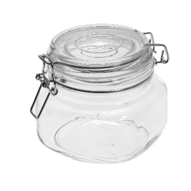 Stikla burka ar vāku Marjukka, 0,5 L