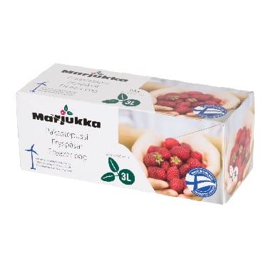 Maisiņi produktu saldēšanai 75 gab. Marjukka, 3 L