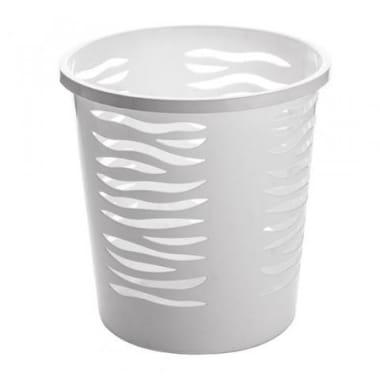 Atkritumu grozs BranQ balts, 10 L