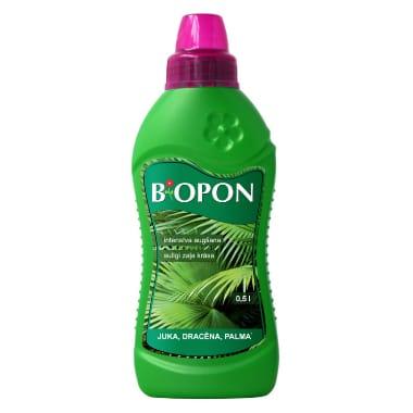 Šķidrs mēslojums jukkām, dracēnām, palmām Biopon, 500 ml