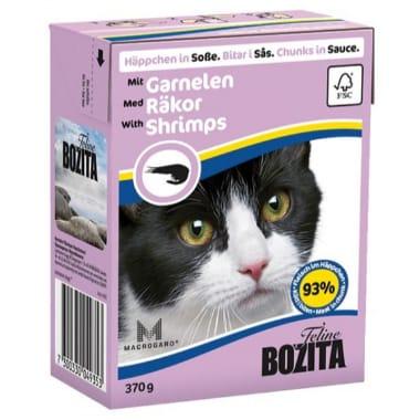 Kaķu barība ar garnelēm Bozita, 370 g