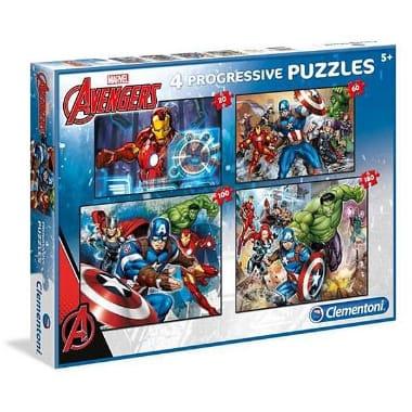 Puzle Avengers, 4 veidi