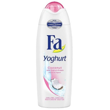 Dušas želeja Yoghurt Coconut FA, 250 ml