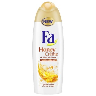 Dušas želeja Honey Creme FA, 250 ml
