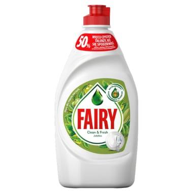Trauku mazgāšanas līdzeklis ābolu Fairy, 450 ml