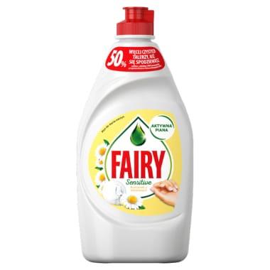 Trauku mazgāšanas līdzeklis Fairy Sensitive, 450 ml