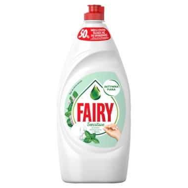 Trauku mazgāšanas līdzeklis Sensitive Teatree&Mint Fairy, 900 ml