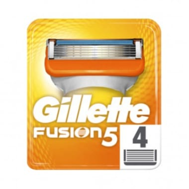 Skuvekļa kasetes Gillette Fusion, 4 gab.