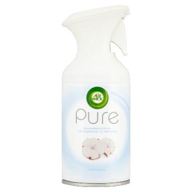Gaisa atsvaidzinātājs Pure Cotton Air Wick, 250 ml