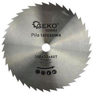 Diska asmens ripzāģim, Geko, Ø 350x32 mm, 40 zobi