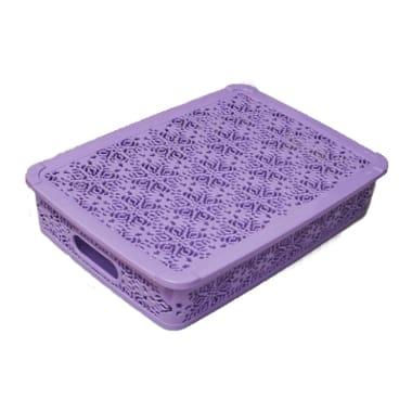 Groziņš ar vāku violets, Katex