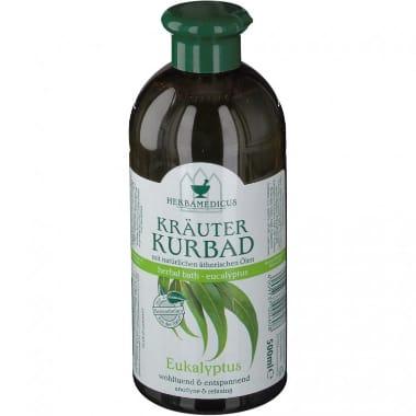 Vannas putas ar eikaliptu HerbaMedicus, 500 ml