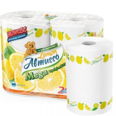Virtuves dvieļi Almusso Lemon, 2 gab.