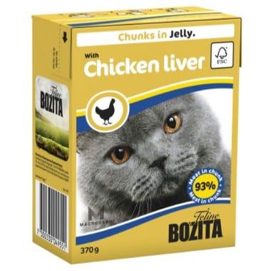 Kaķu barība ar vistu aknām Bozita, 370 g