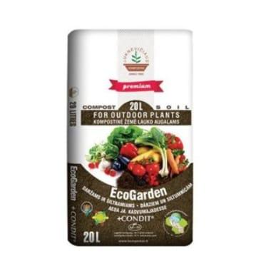 Komposta augsne EcoGarden + Condit, 20L