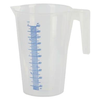 Plastmasas mērtrauks, 2 L