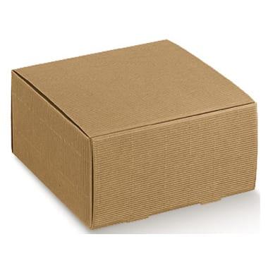 Dāvanu kaste brūna, 13x13x11
