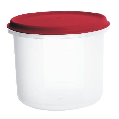 Uzglabāšanas trauks sarkans Margerit, Plast team, 0,5 L