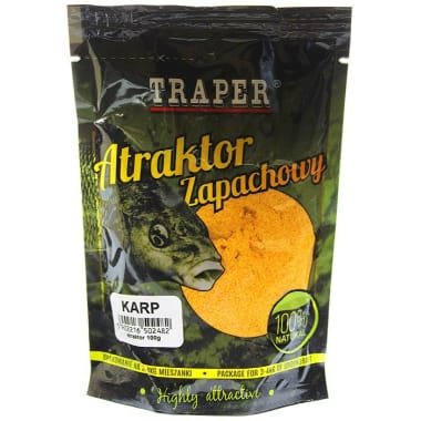 Smaržas piesaistītājs zivīm karpa Traper, 100g