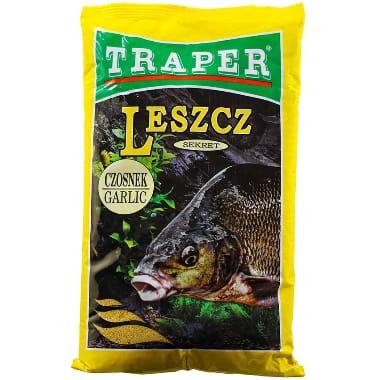 Papildbarība brekšiem Sekret ķiploku Traper, 1 kg
