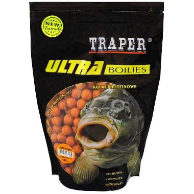 Papildbarība zivīm, boilas tutti-frutti 16 mm Traper, 500 g