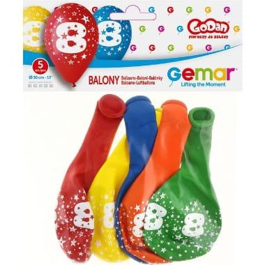 "Baloni ""8"" Gemar, 5 gab."