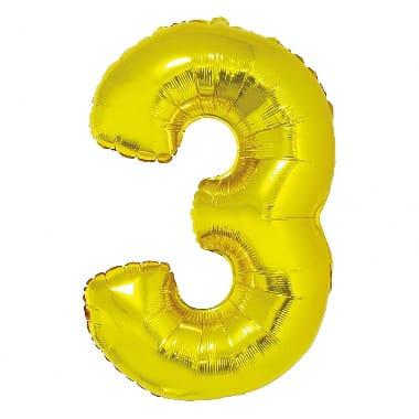 "Folija balons ""3"", Godan"